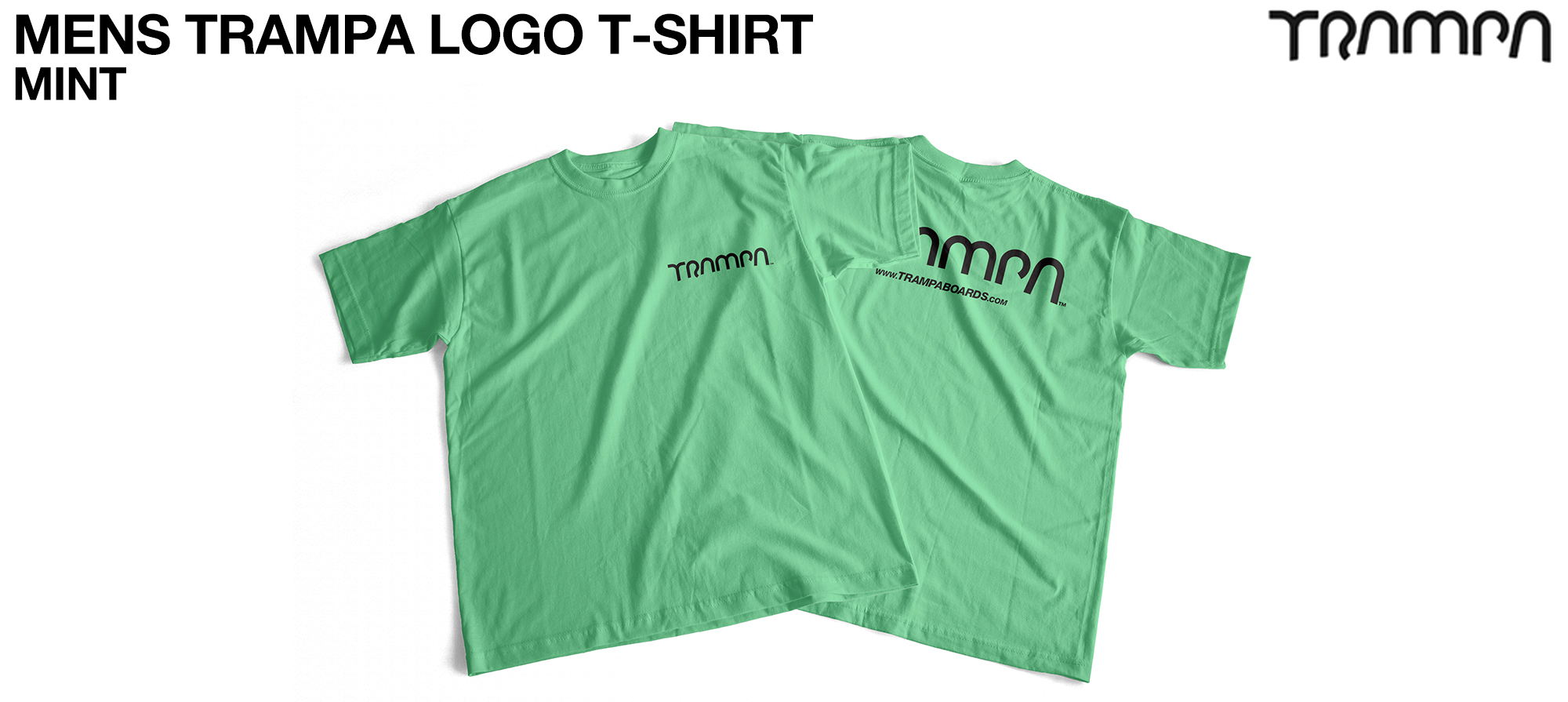 Gildan T  TRAMPA LOGO Mint - CUSTOM (COPY)