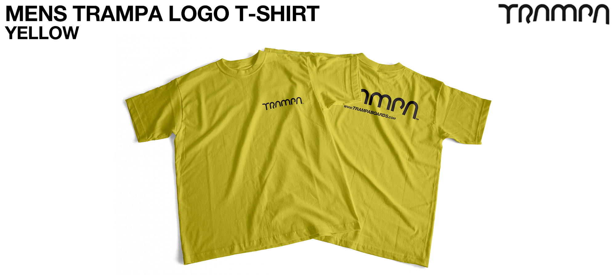 Gildan T  TRAMPA LOGO Yellow - CUSTOM (COPY)