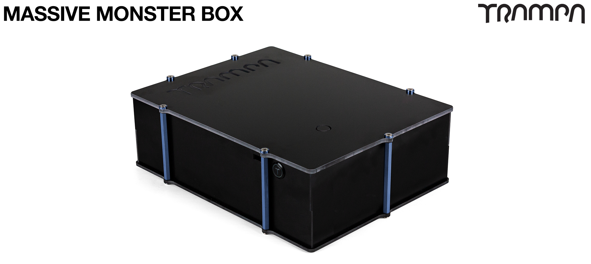 2WD MASSIVE MONSTER Box with NO VESC Mounting Panel