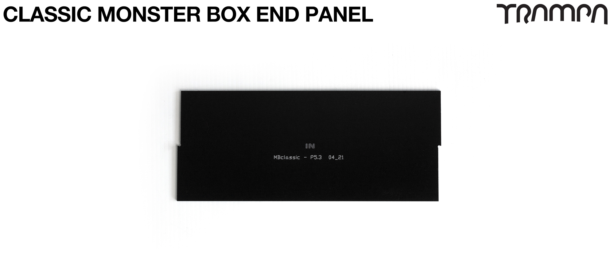 CLASSIC Monster Box MkIV 1x NO VESC Panel