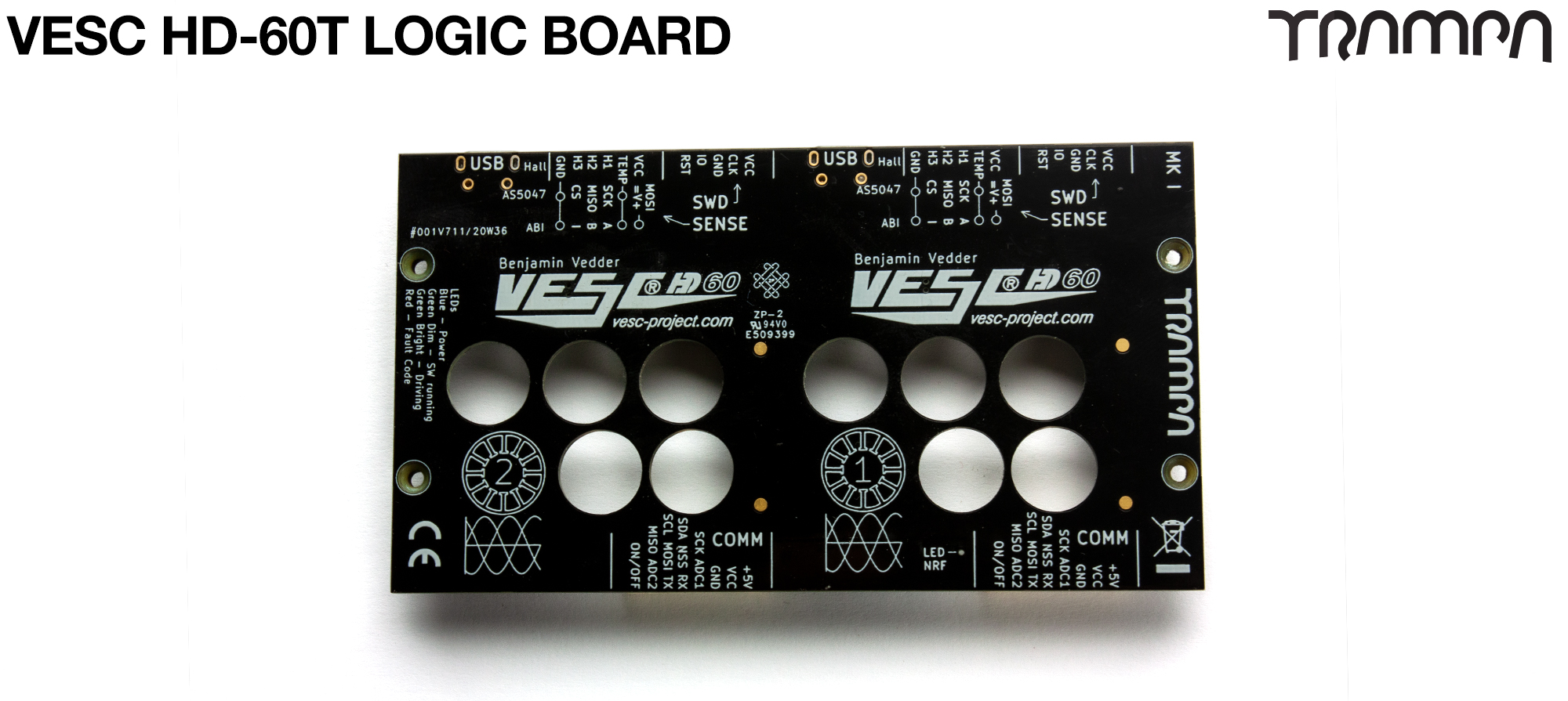 VESC HD-60T - PCB Logic