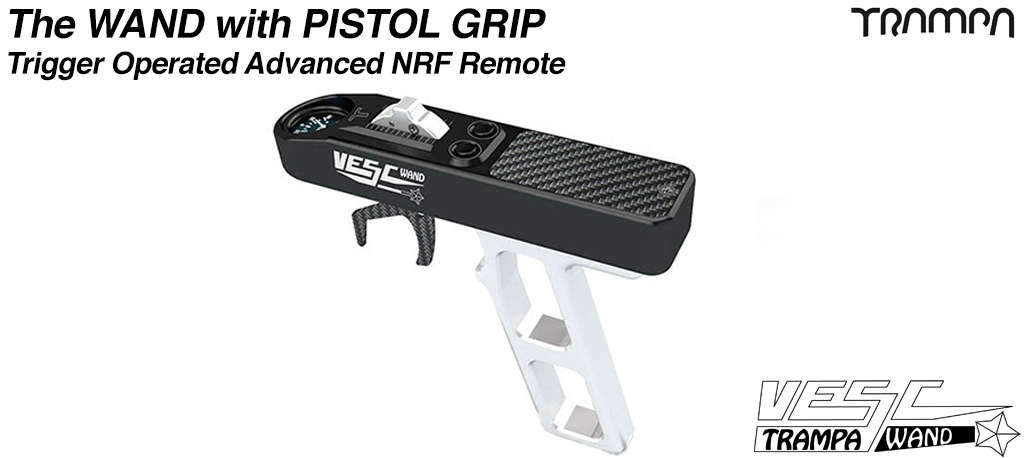 WAND Remote Control with pistol grip