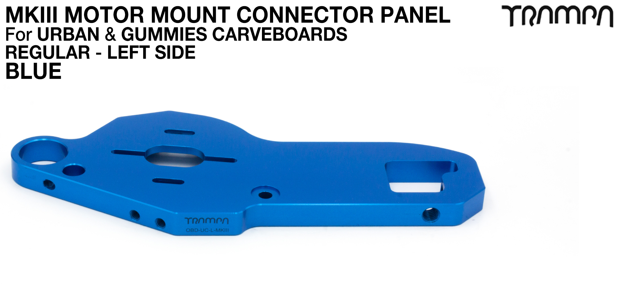 URBAN CARVE Motor Mount - REGULAR BLUE - OUT OF STOCK