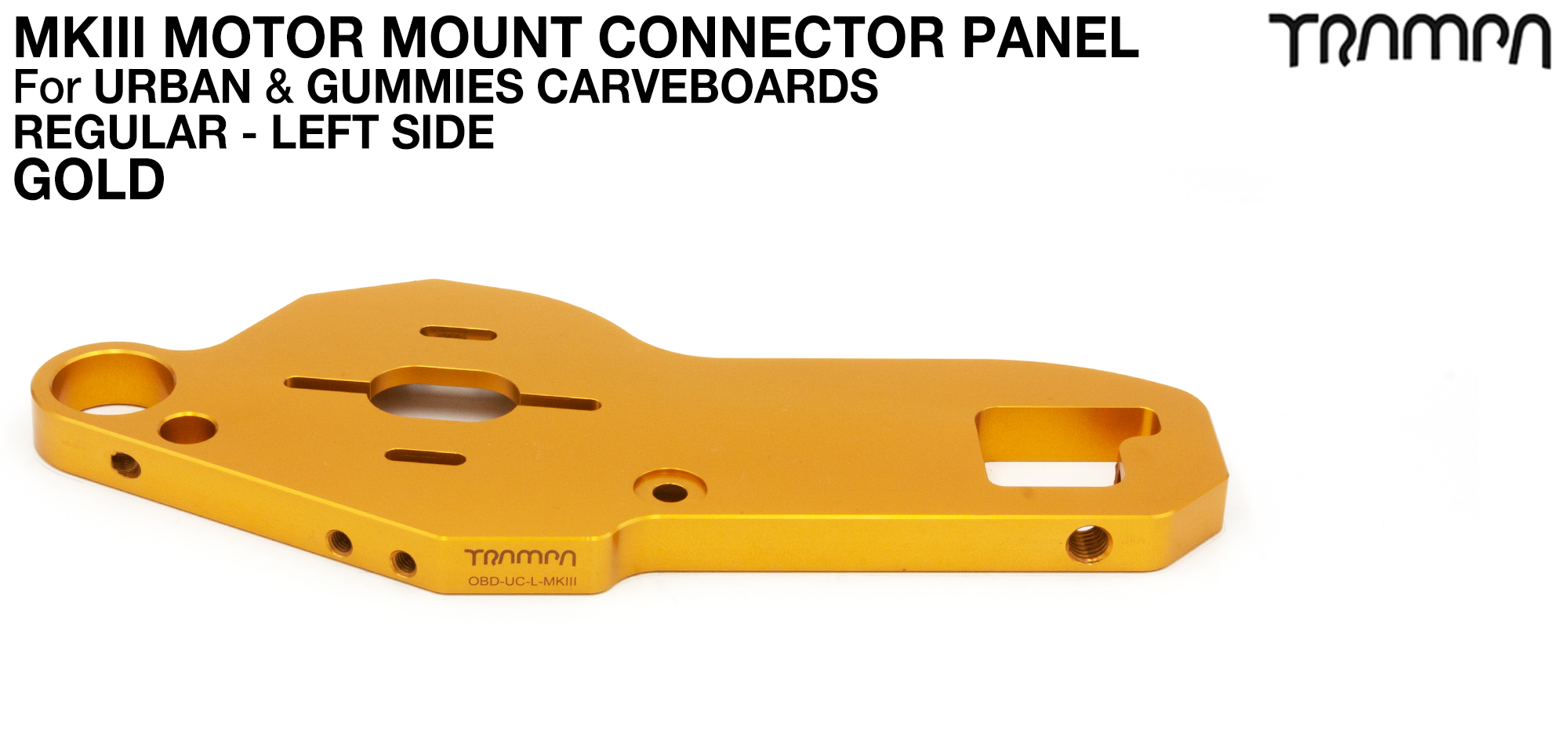 URBAN CARVE Motor Mount - REGULAR GOLD
