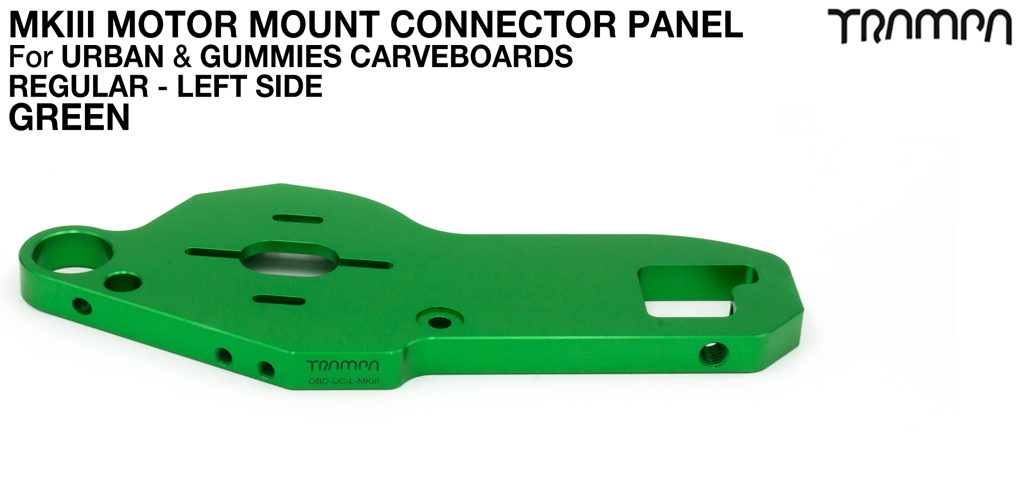 URBAN CARVE Motor Mount - REGULAR GREEN