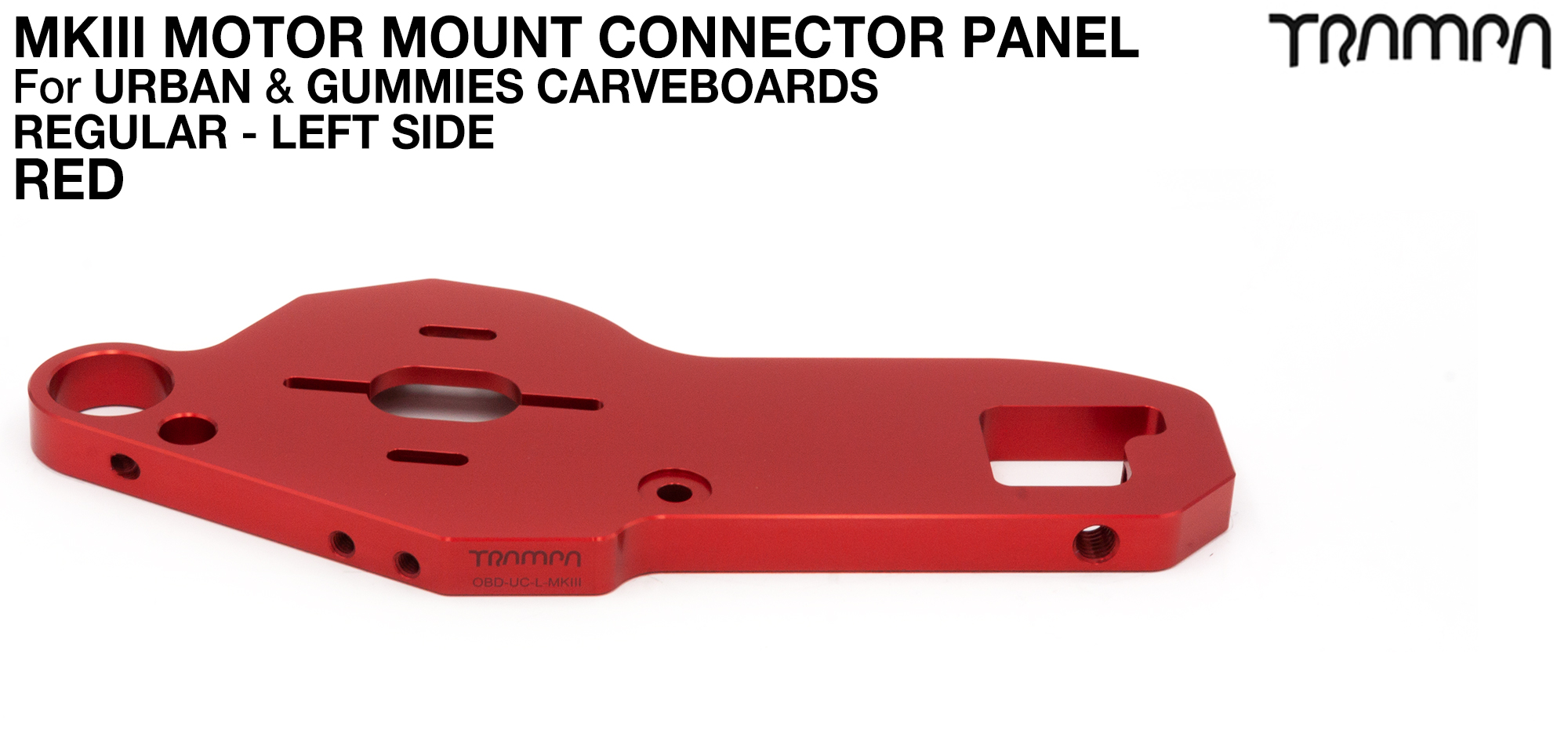 URBAN CARVE Motor Mount - REGULAR RED