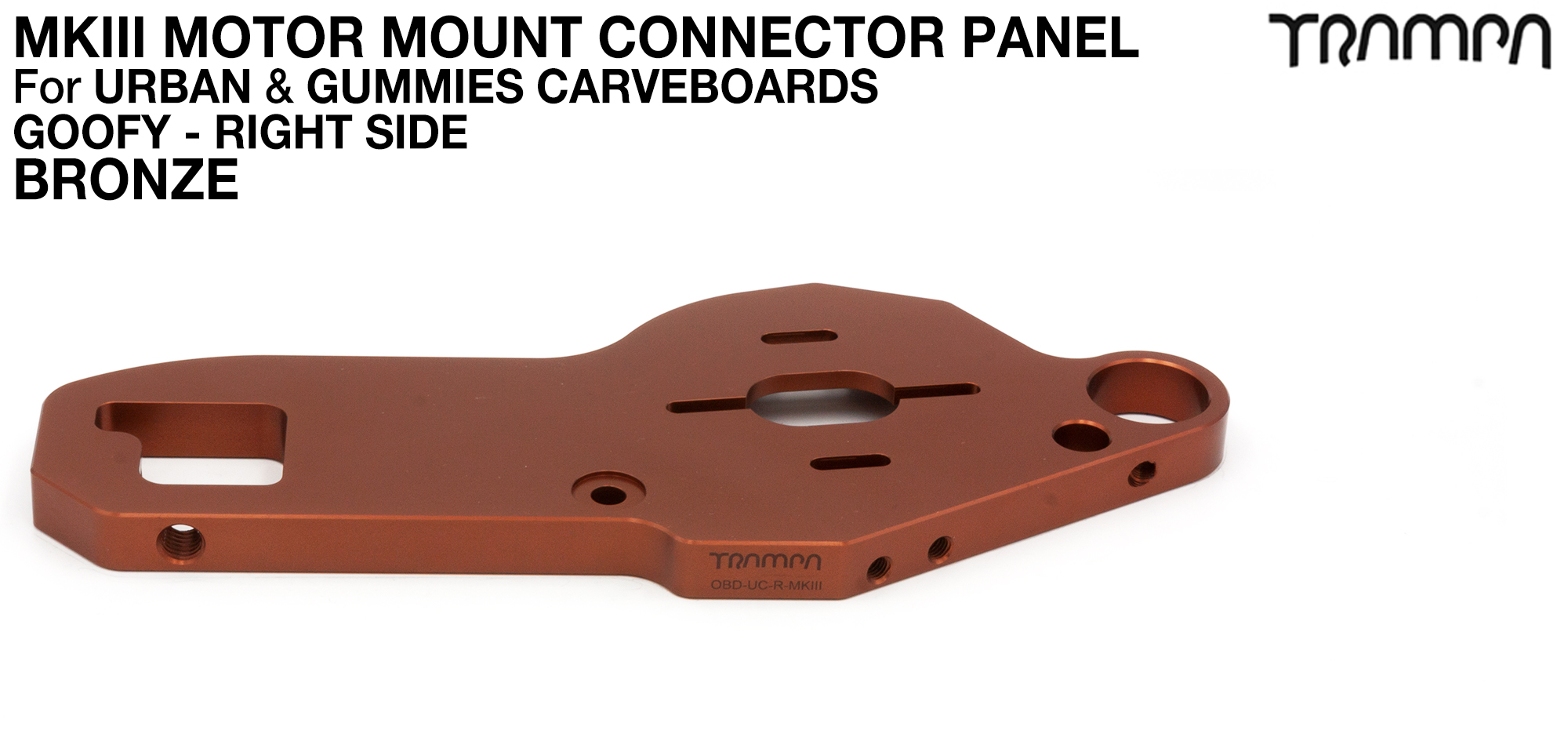 TWIN URBAN CARVE Motor Mount - BRONZE