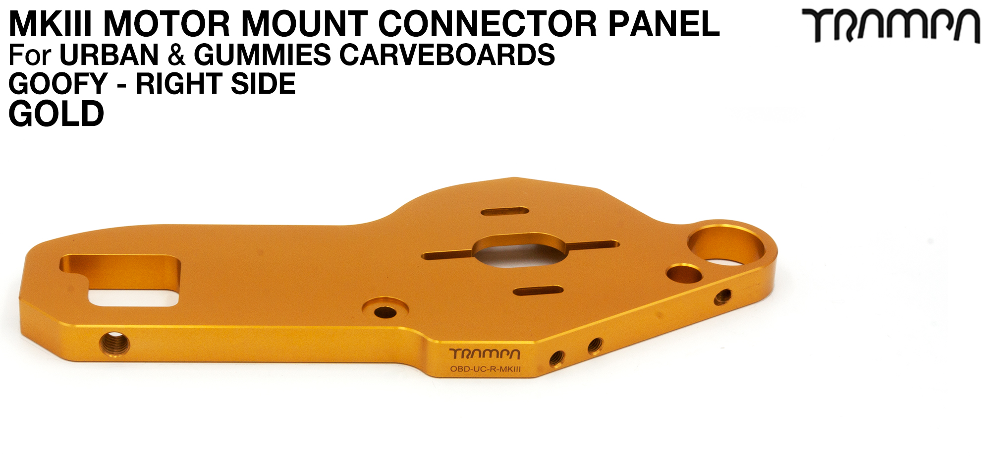 TWIN URBAN CARVE Motor Mount - GOLD