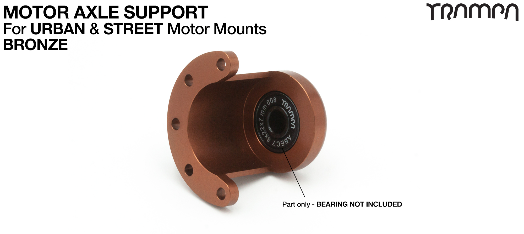Universal Motor Axle Support - BRONZE