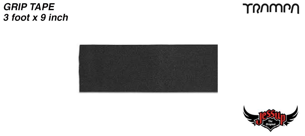 3 Foot of 9 Inch Wide Jessop Grip Tape for Longboards