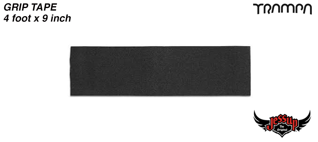 4 Foot of 9 Inch Wide Jessop Grip Tape for Longboards