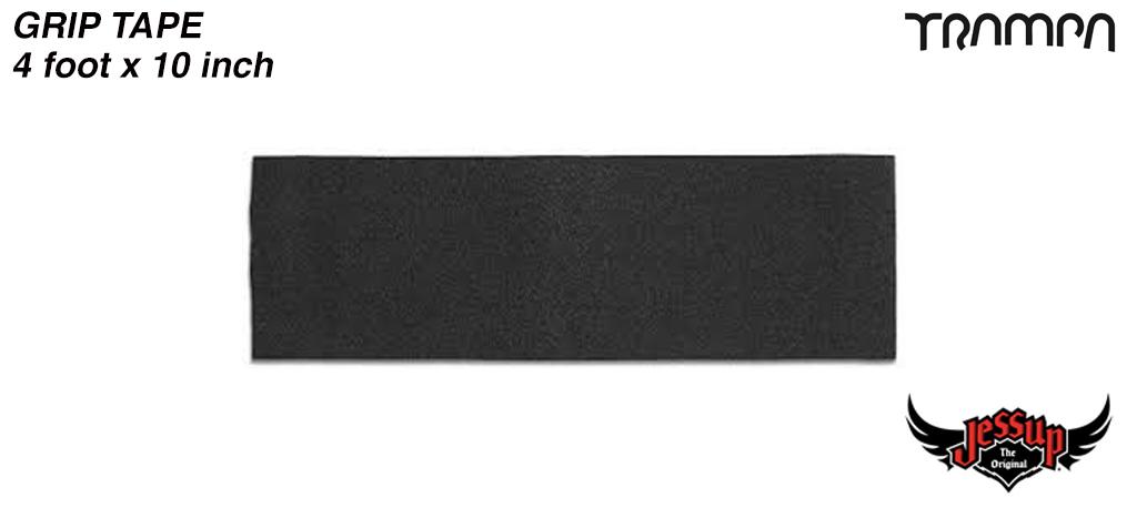 4 Foot of 10 Inch Wide Jessop Grip Tape for wide Longboards
