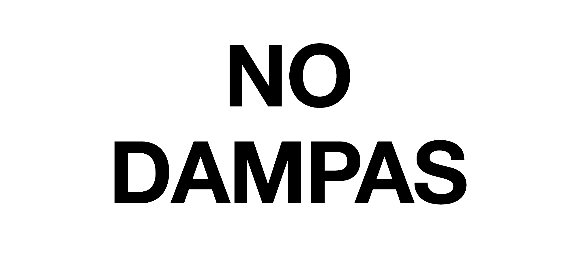 NO DAMPA's Thanks