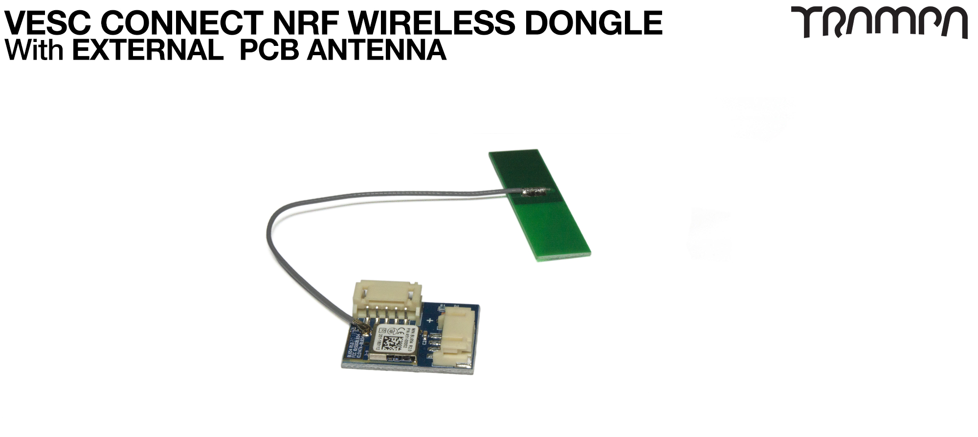 VESC Connect NRF Wireless Dongle with EXTERNAL PCB ANTENNA