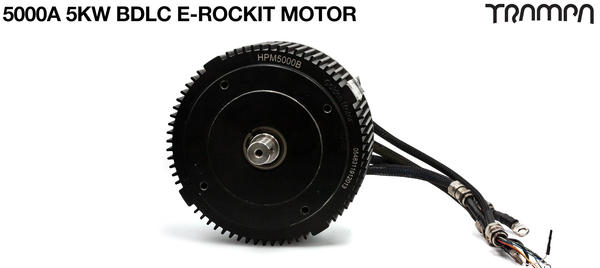 5000A 5KW BDLC E-Rockit Motor
