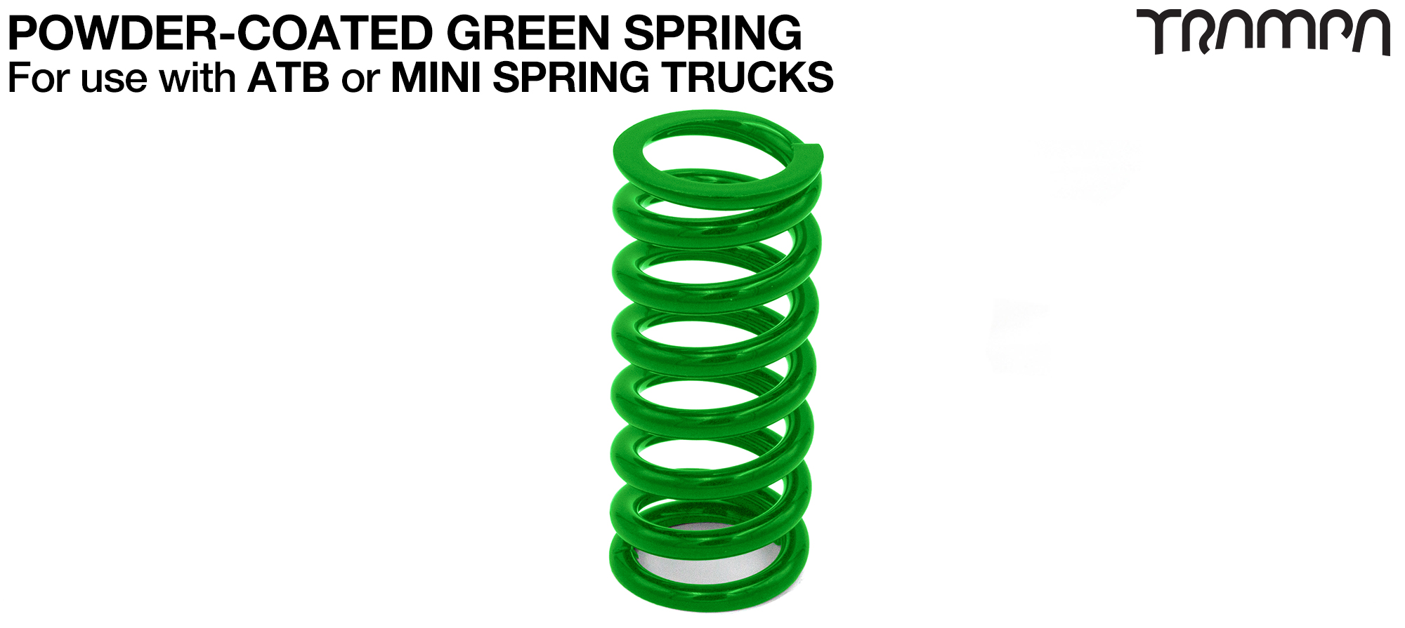 Steel Spring Powder Coated - GREEN