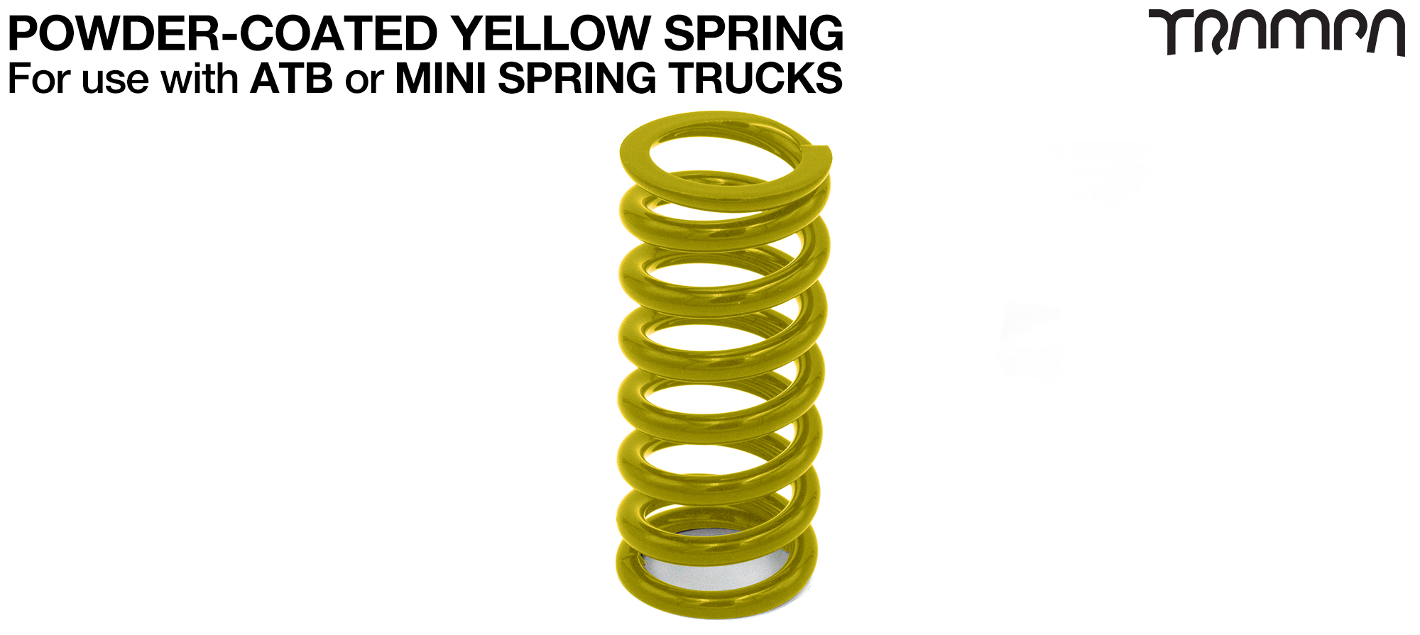 Steel Spring Powder Coated - YELLOW