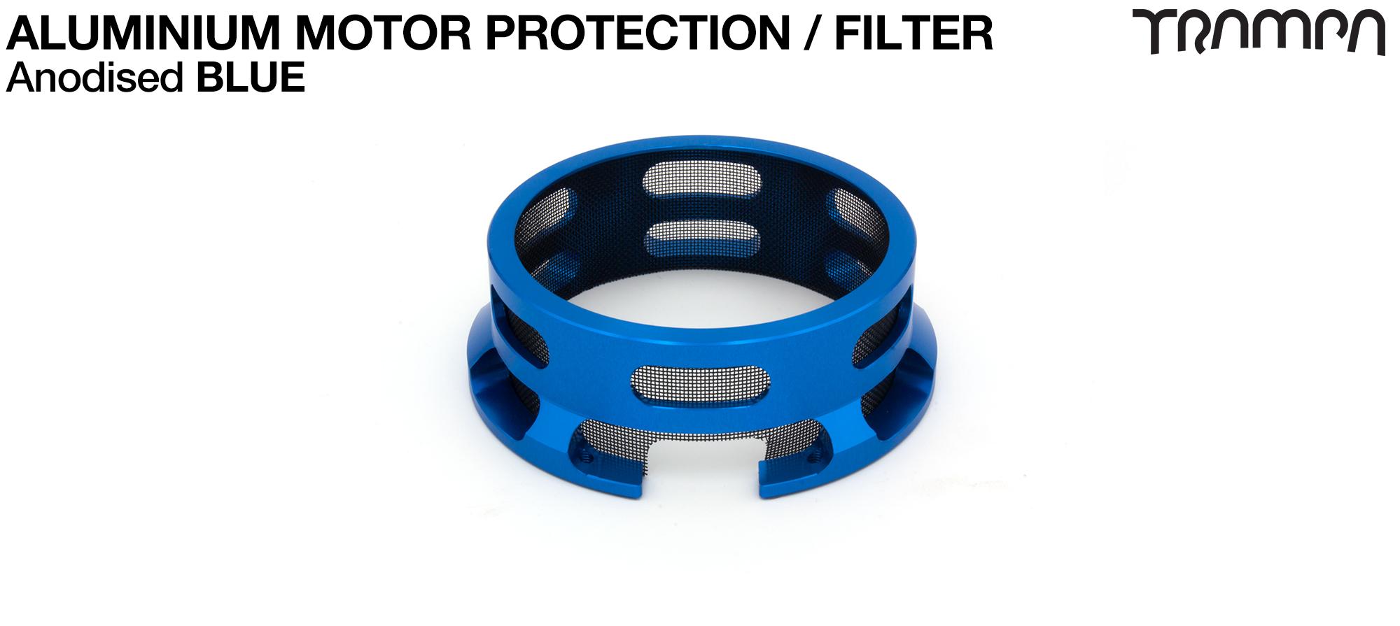 Aluminium Motor protection - BLUE