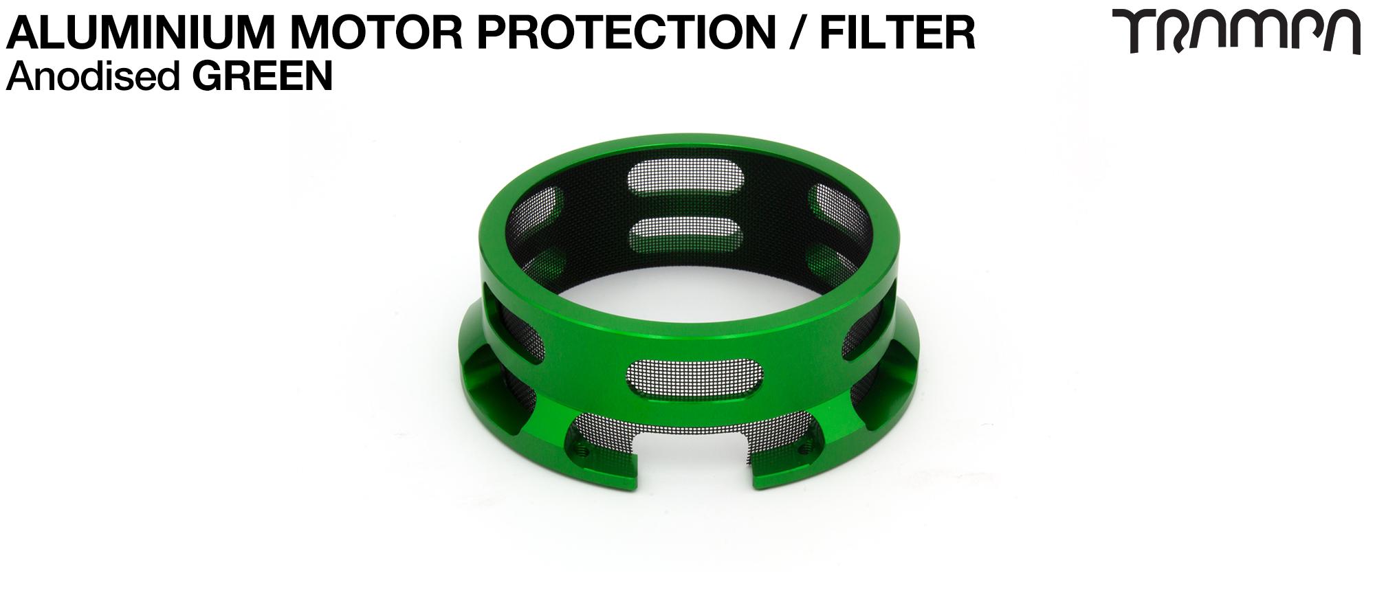 Aluminium Motor protection - GREEN
