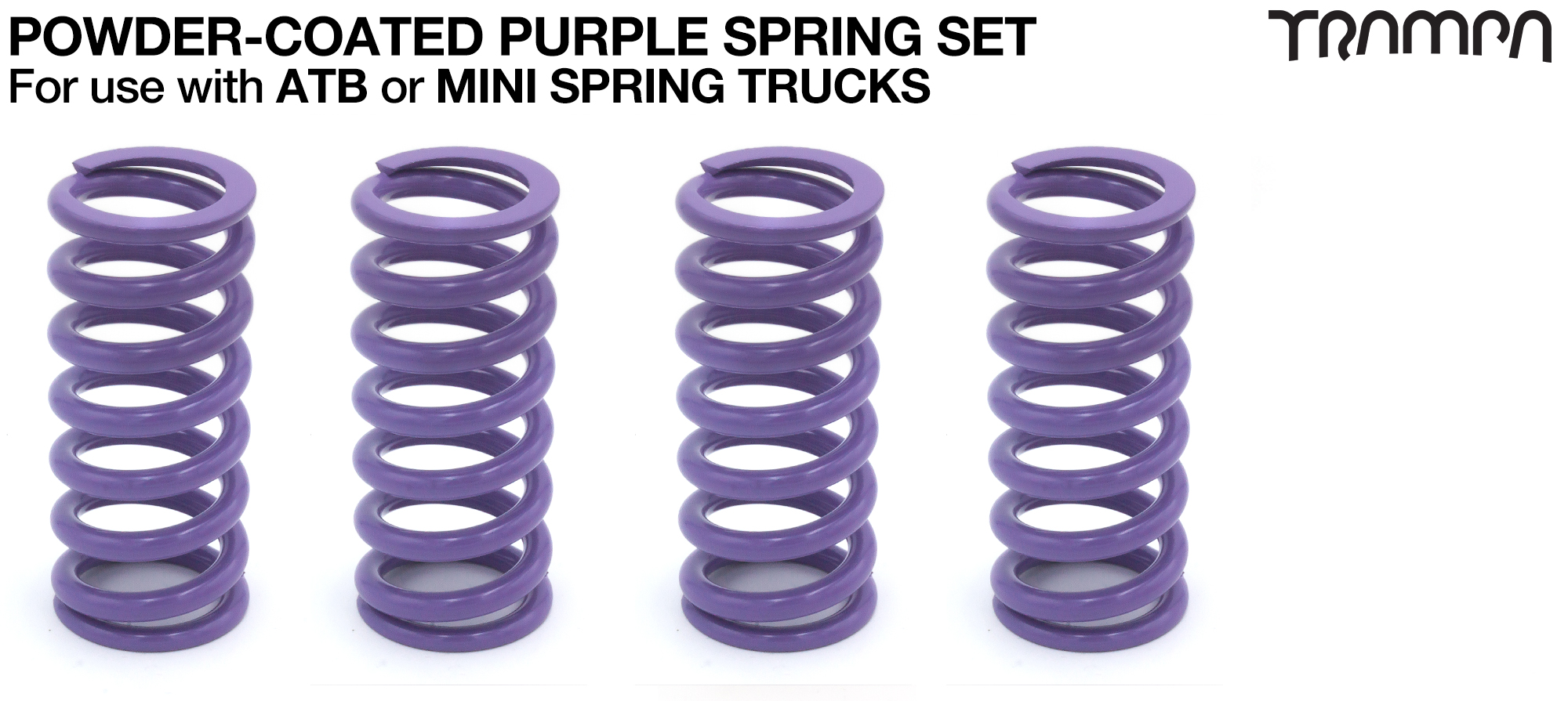 PURPLE Powder Coated Springs