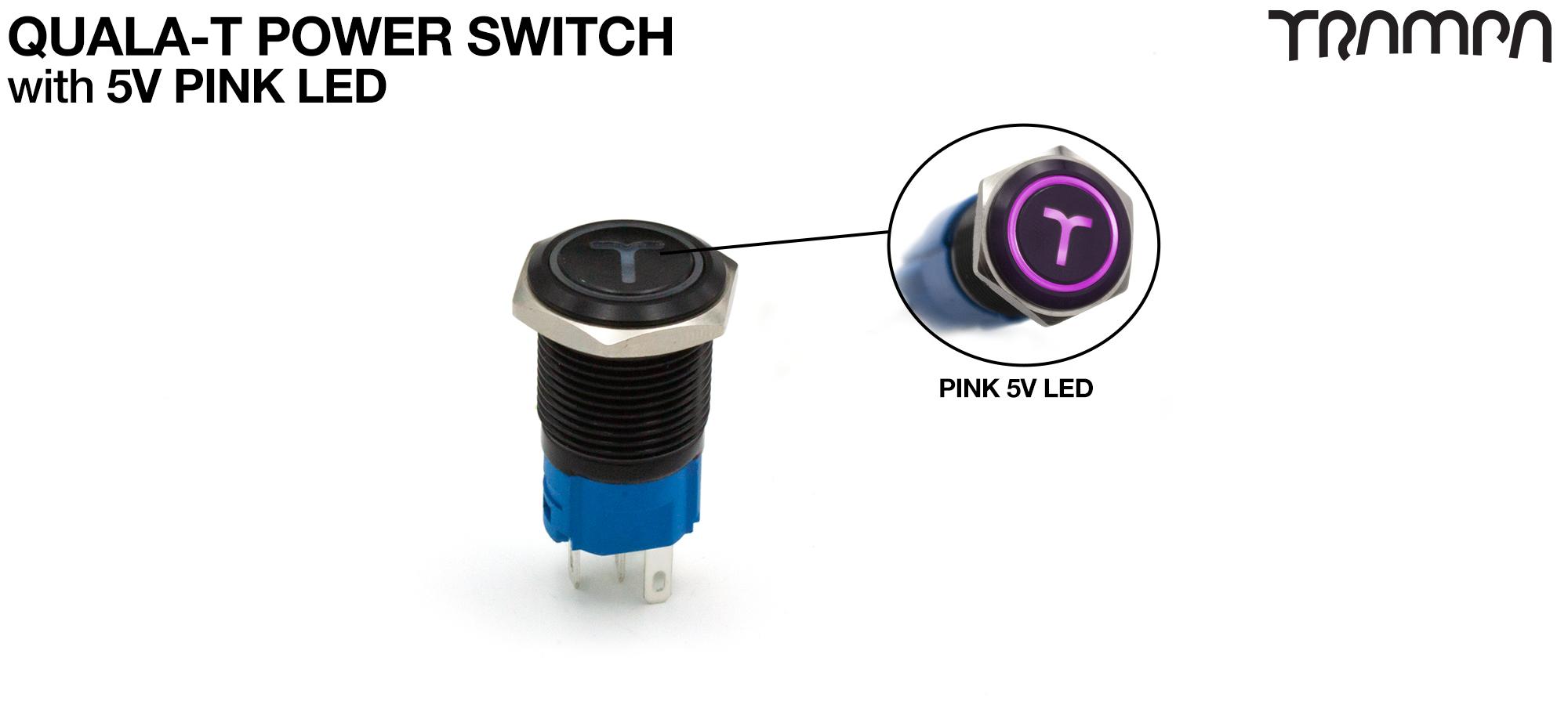 I'd like a PINKY/PURPLE LED power switch