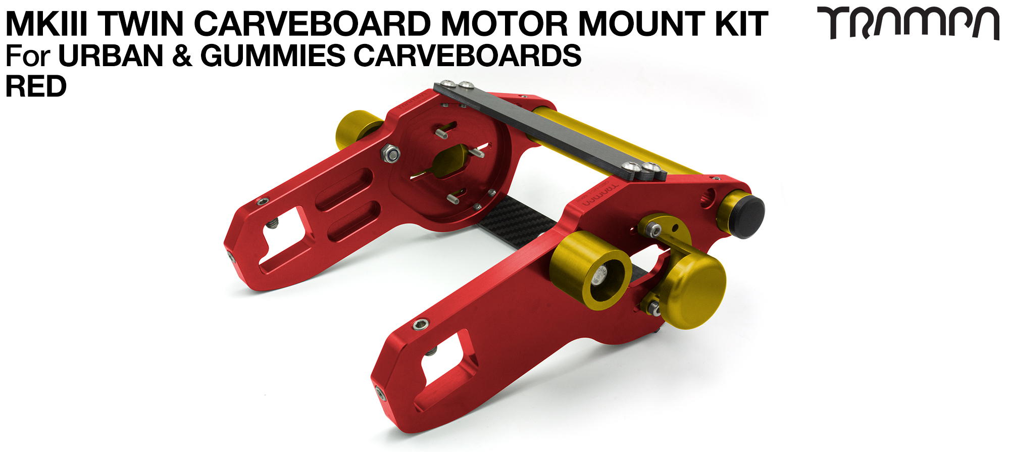 MkIII CARVE BOARD Motor Mount Kit - TWIN RED