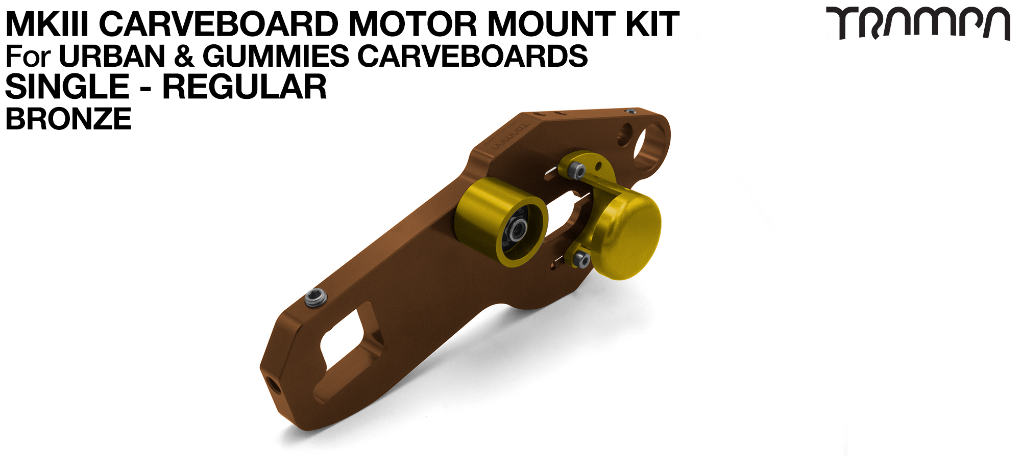 MkIII CARVE BOARD Motor Mount Kit - SINGLE BRONZE