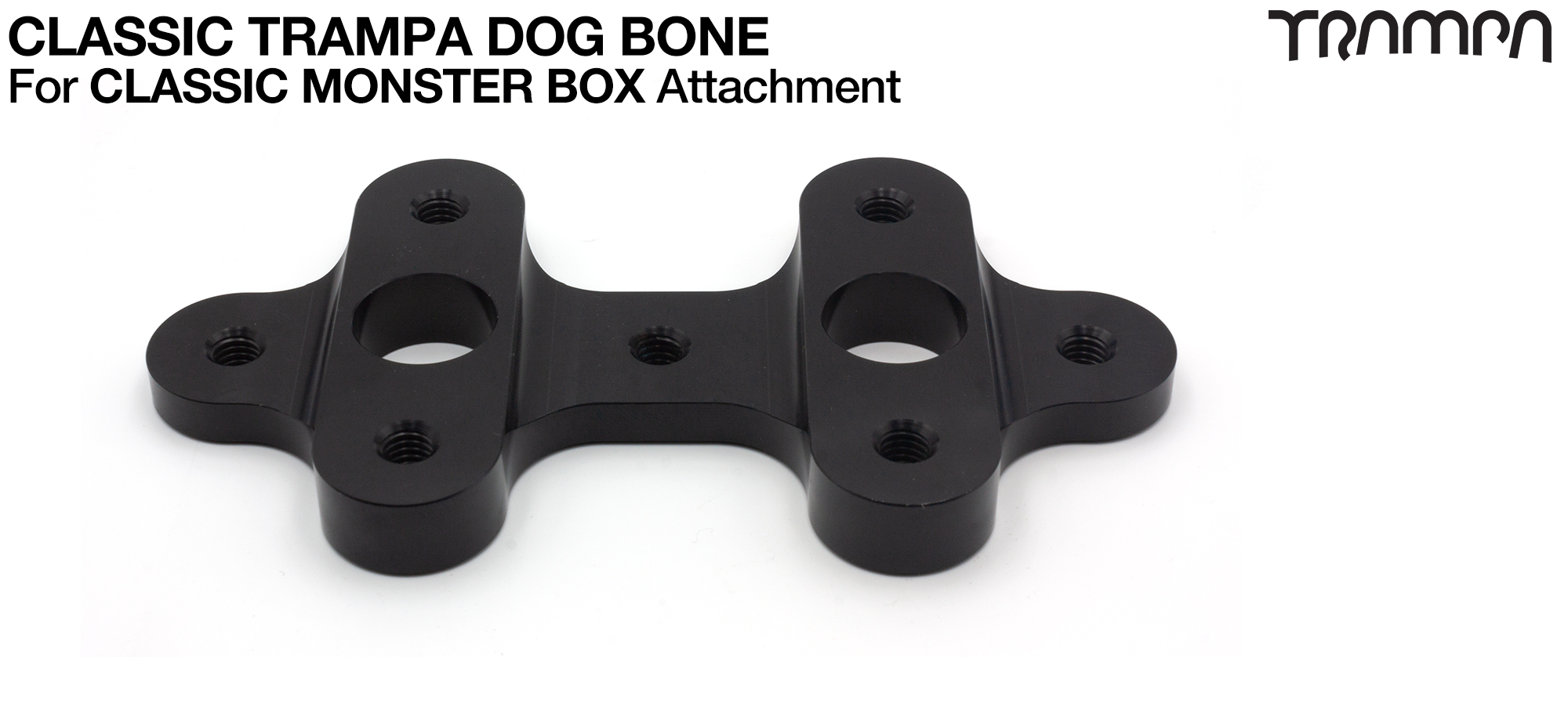Classic Monster Box DOG BONE is used to mount the Classic Monster box securely to the deck