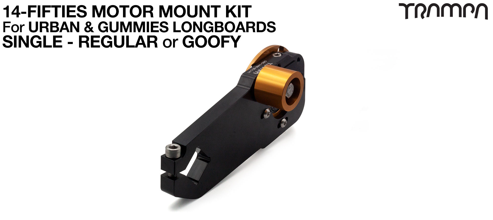 14FiFties Motor Mount Connector with Axle support & 15mm Belt Tensioner - SINGLE
