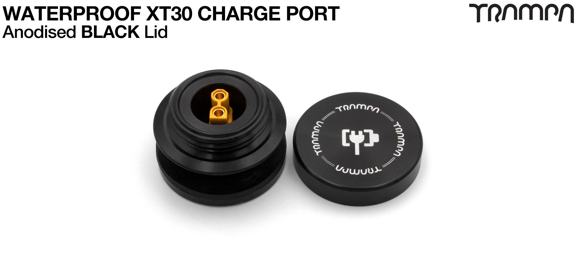 ORRSOM GT XT30 WATERPROOF Charge Port - BLACK