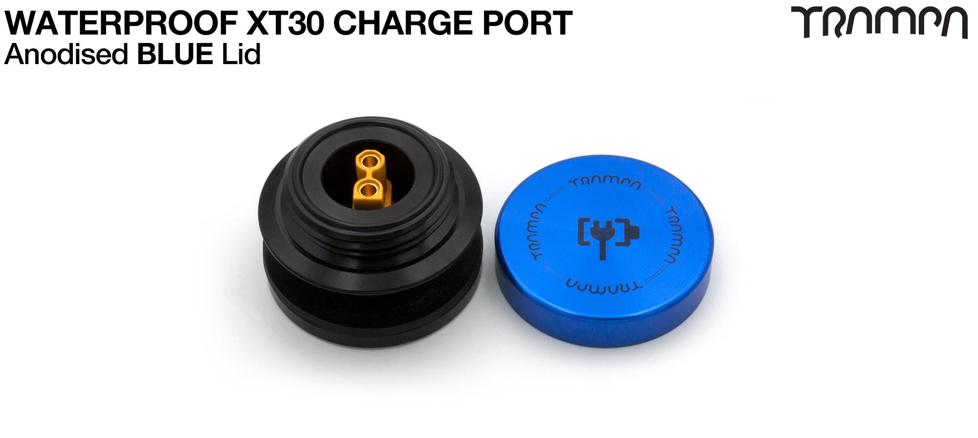 ORRSOM GT XT30 WATERPROOF Charge Port - BLUE