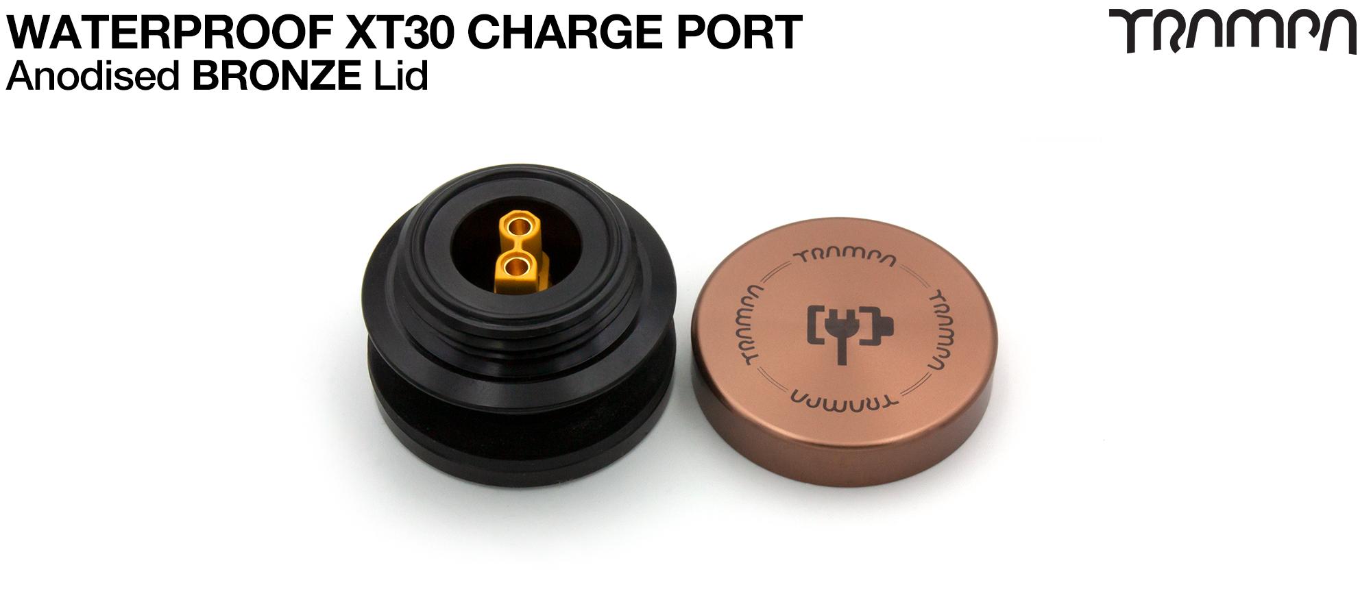 ORRSOM GT XT30 WATERPROOF Charge Port - BRONZE