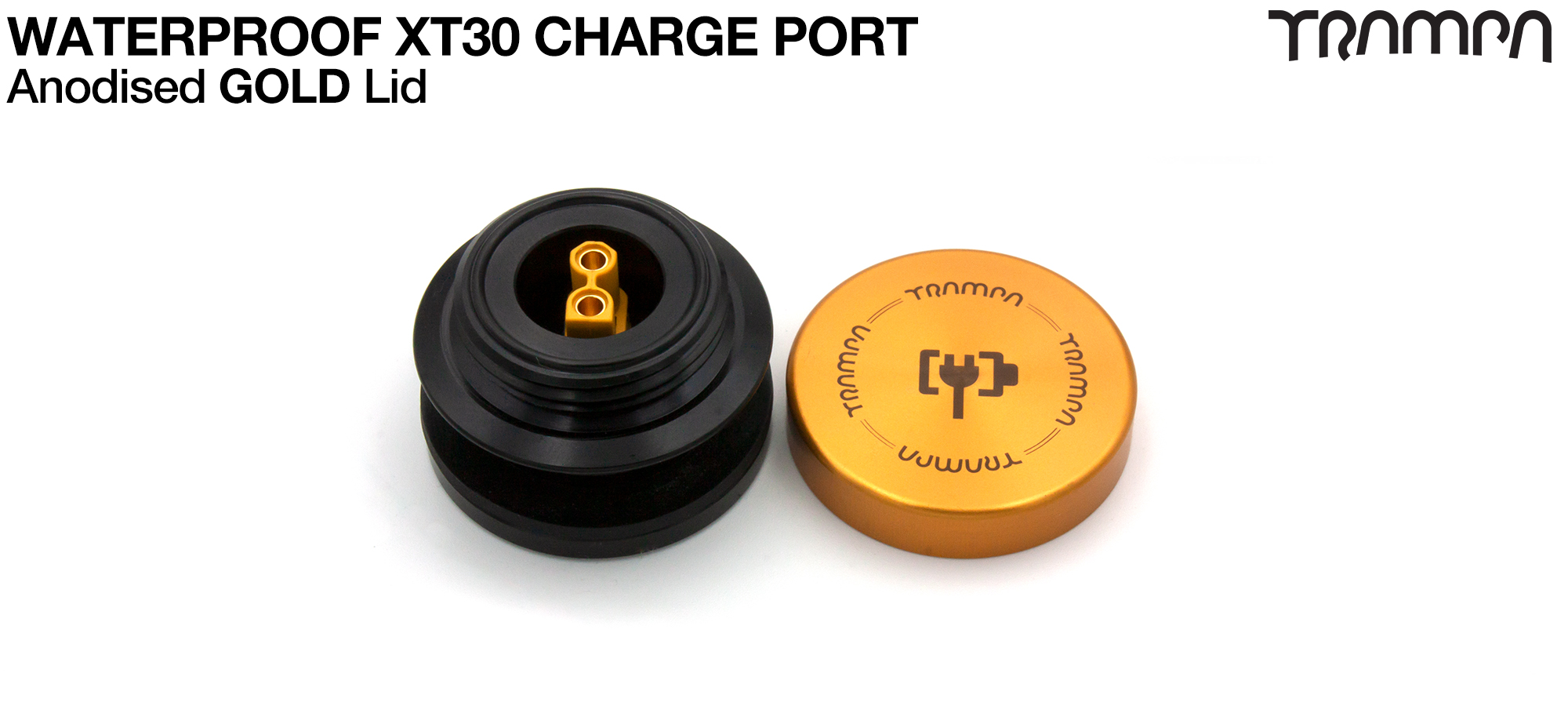 ORRSOM GT XT30 WATERPROOF Charge Port - GOLD