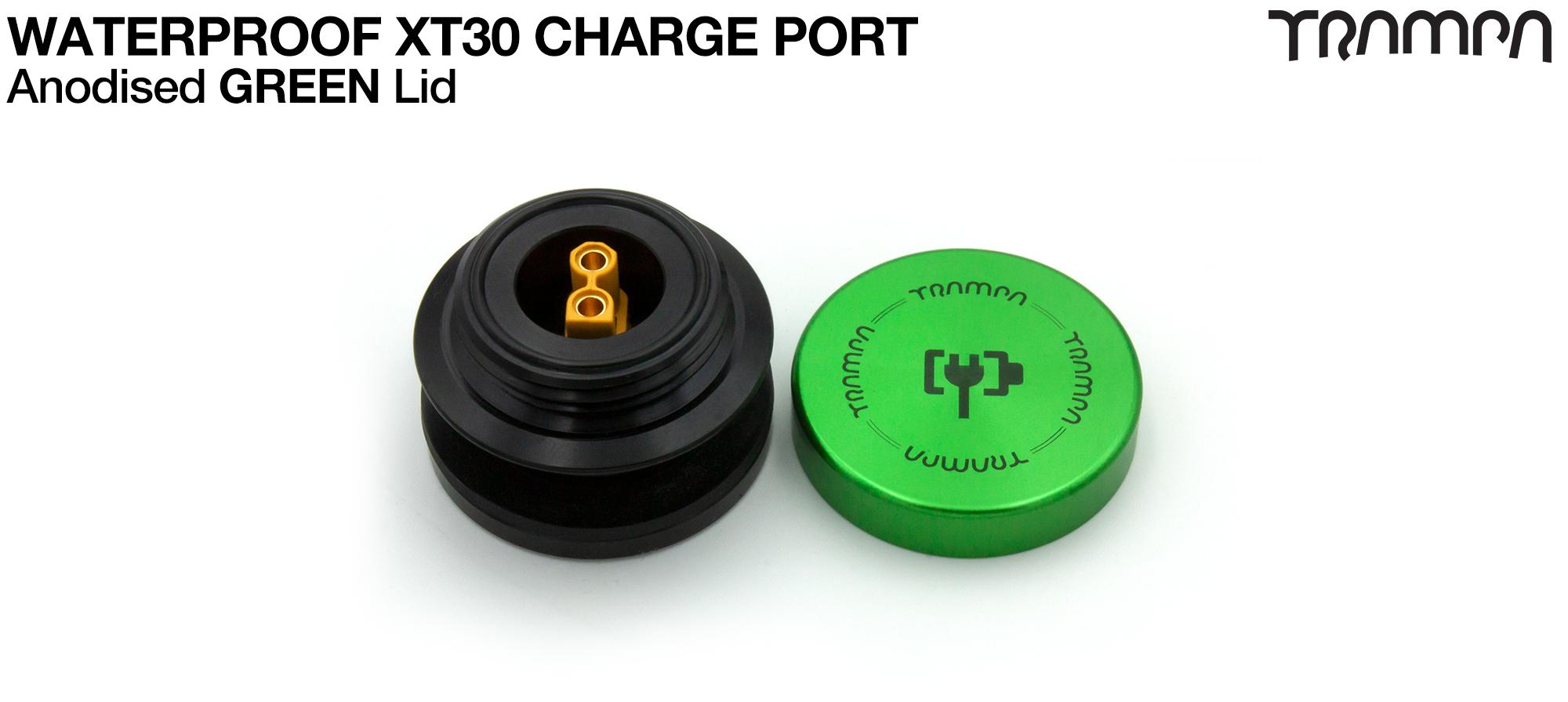 ORRSOM GT XT30 WATERPROOF Charge Port - GREEN
