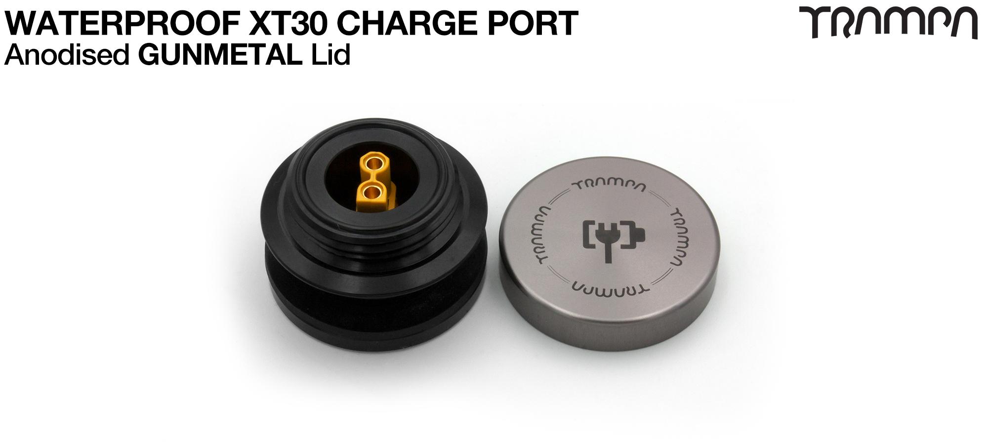 ORRSOM GT XT30 WATERPROOF Charge Port - GUNMETAL