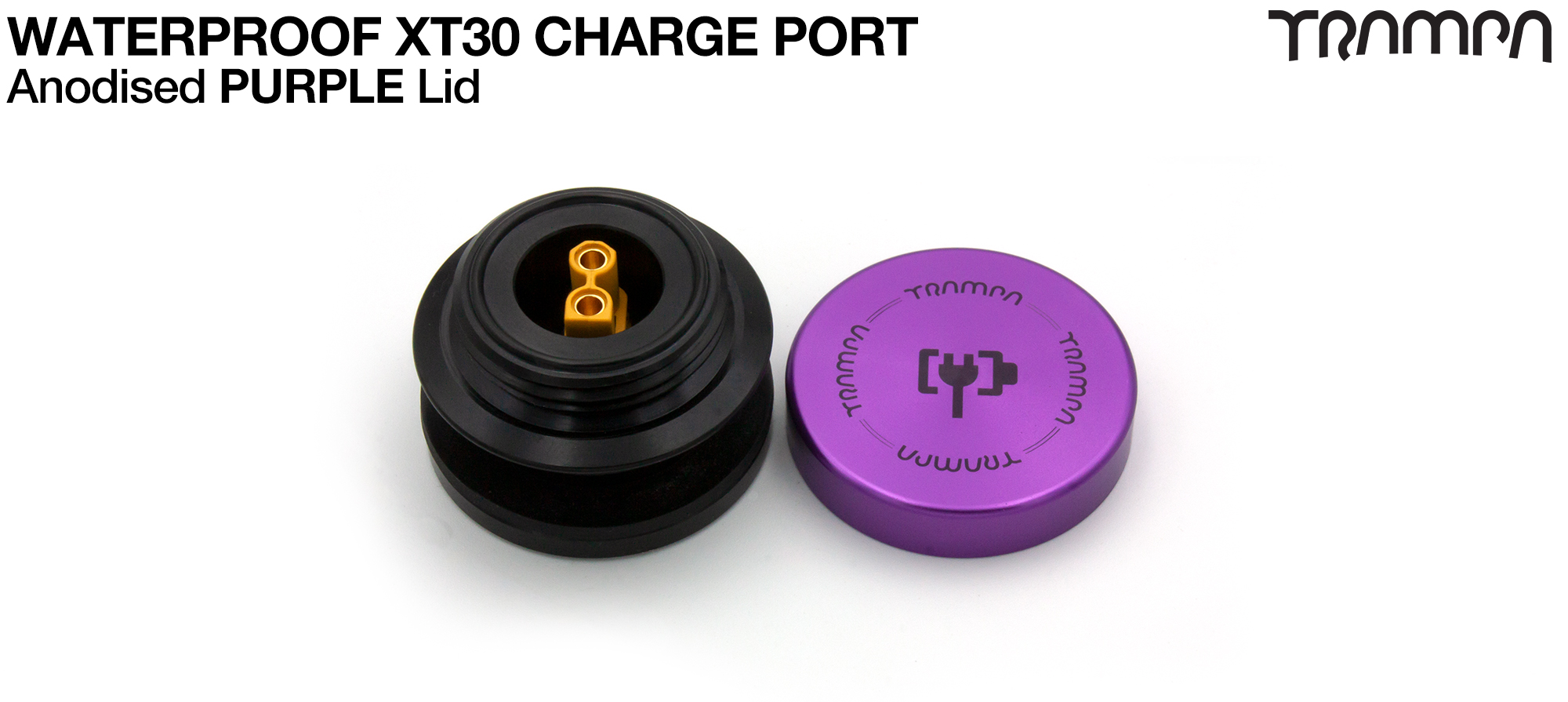 ORRSOM GT XT30 WATERPROOF Charge Port - PURPLE