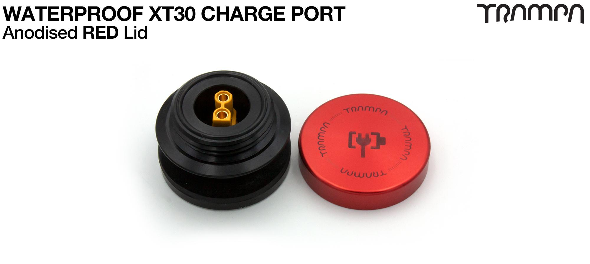 ORRSOM GT XT30 WATERPROOF Charge Port - RED