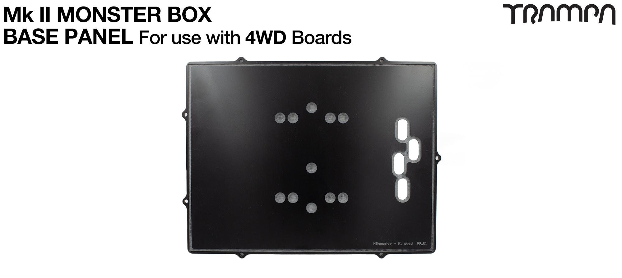 MASSIVE Monster Box BASE for 4WD Li-Ion Cells