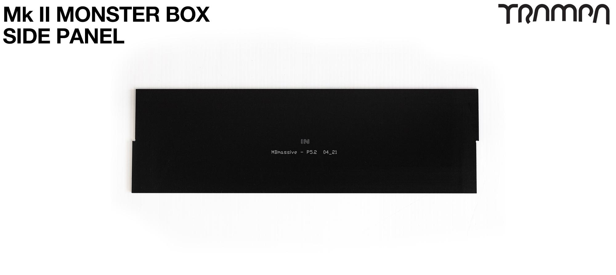 MASSIVE Monster Box SIDE PANEL - BLANK