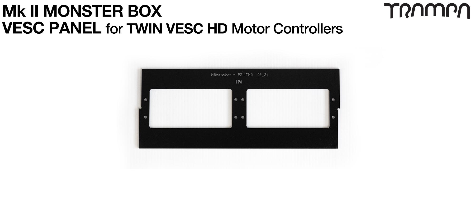 MASSIVE Monster Box 2x HD-60T 2mm Mounting Panel (4WD)