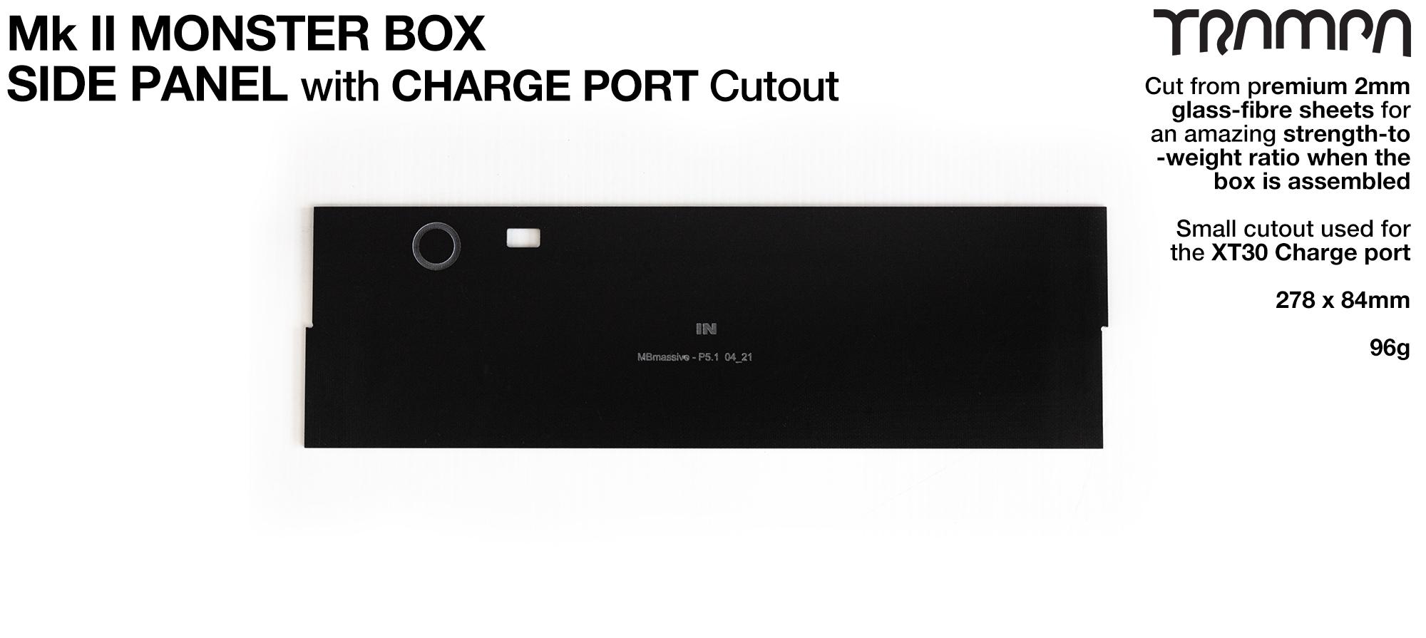 MASSIVE Monster Box SIDE PANEL - CHARGER