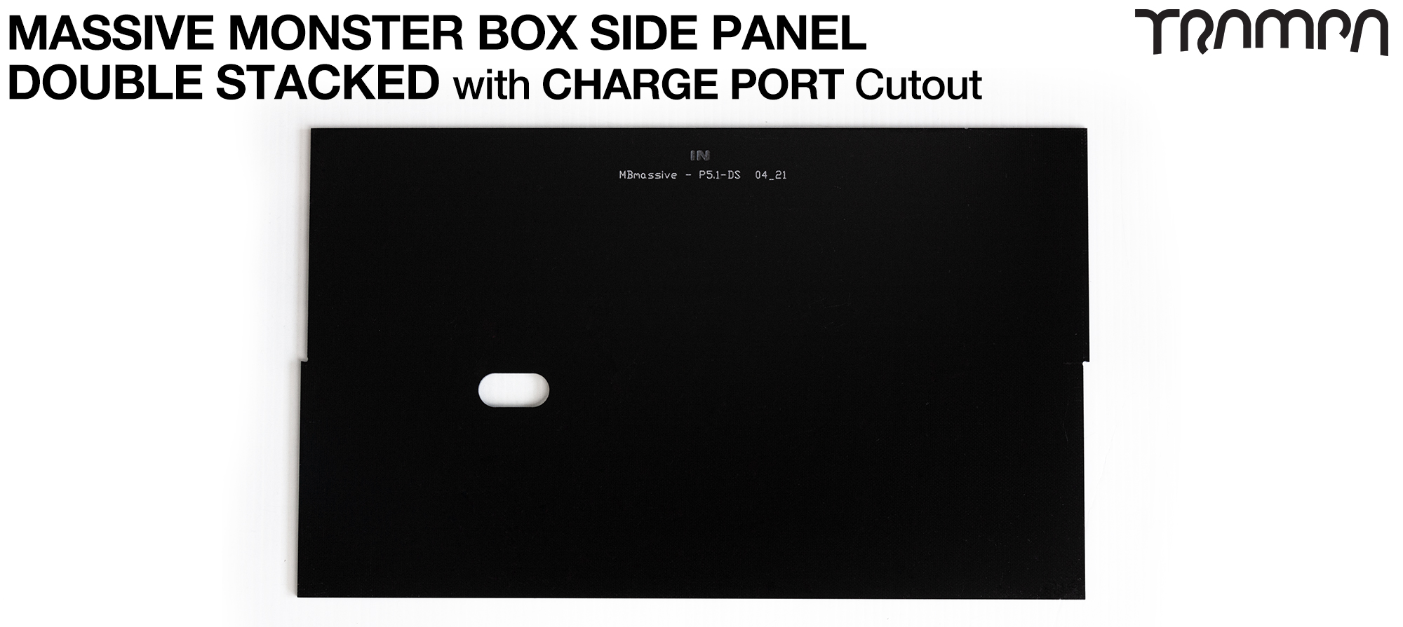 MASSIVE Monster Box 2mm DOUBLE STACK SIDE PANEL - CHARGER