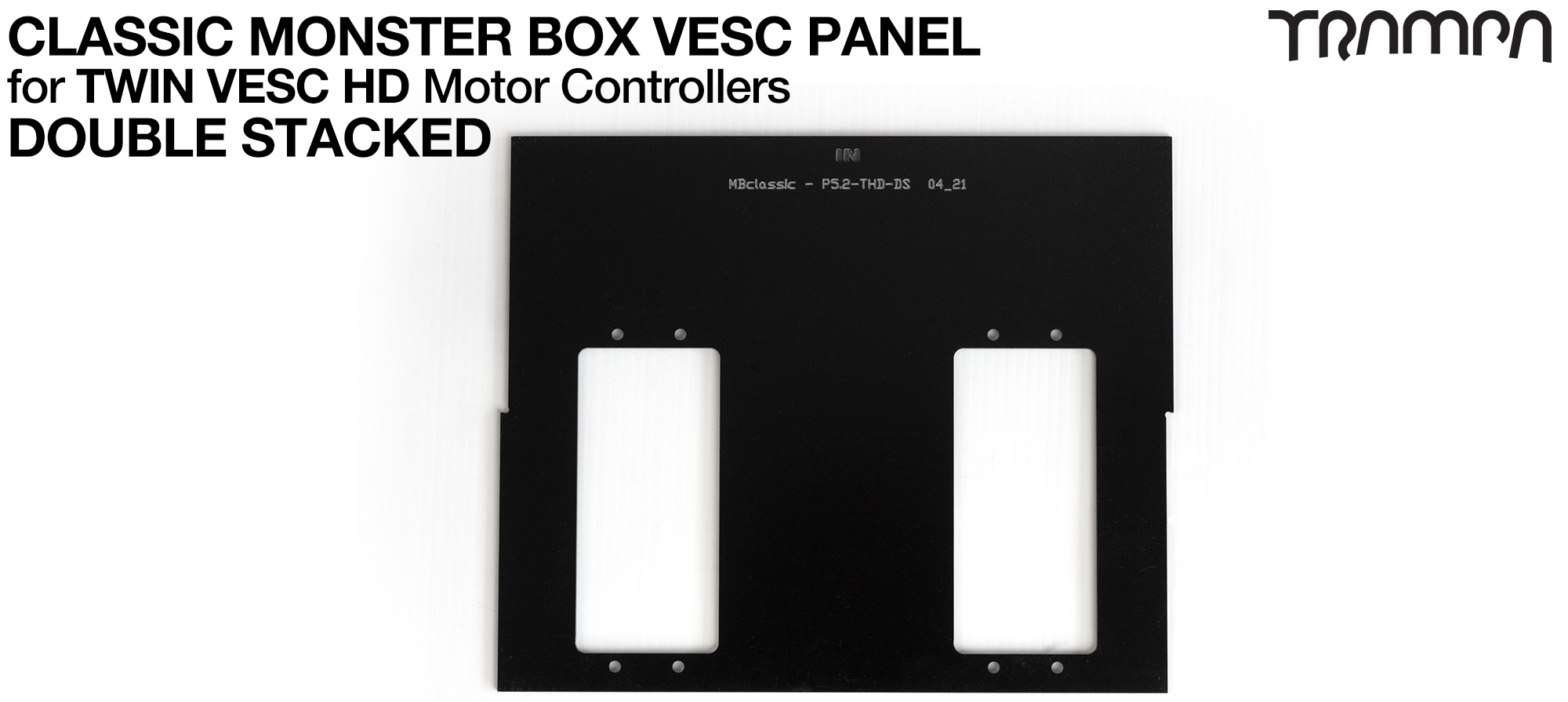 CLASSIC Monster Box MkV DOUBLE STACK Twin HD-60T PANEL