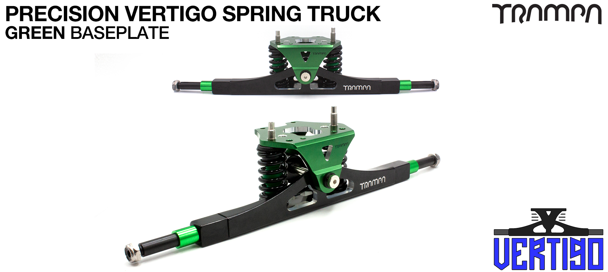 GUNMETAL Anodised Vertigo Truck