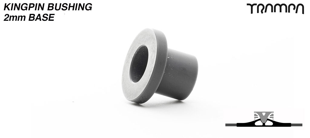 King Pin bushings 2mm Base for Spring Trucks