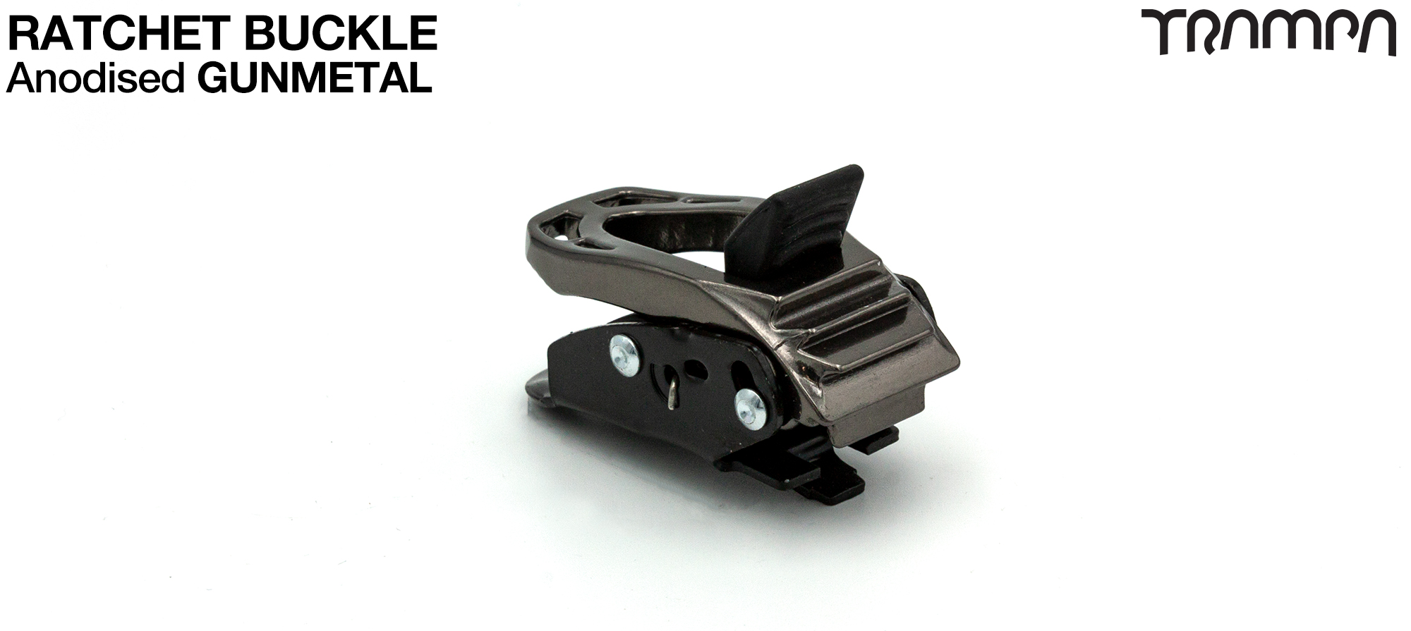 GUNMETAL Ratchet Buckle