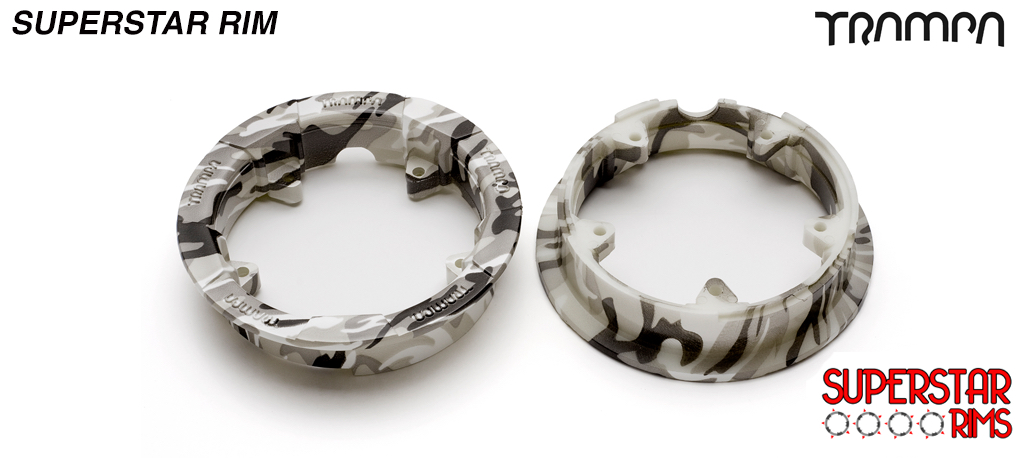 WINTER CAMO Print Superstar Rims - All Round (+£20)
